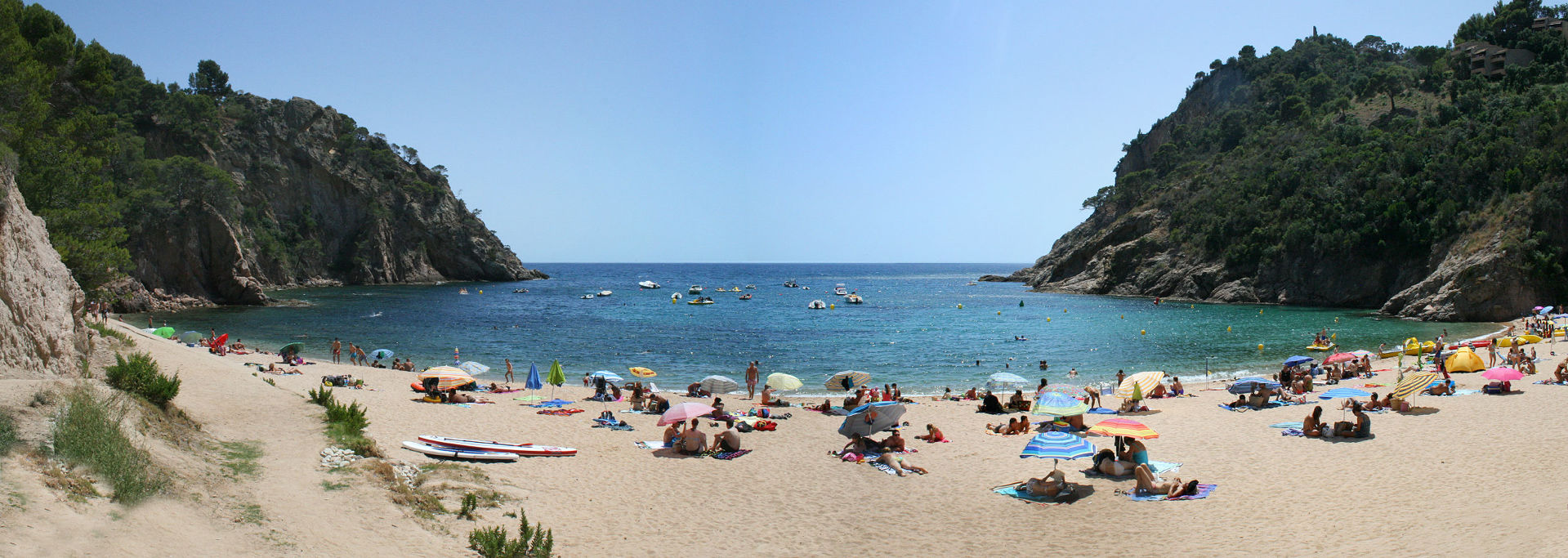 The 10 best beaches de Llafranc