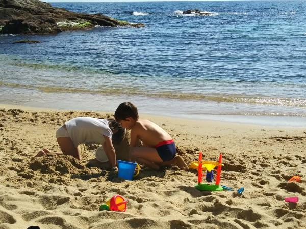 The 15 best beaches to go with children de Platja d'Aro