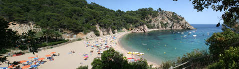 Beaches and coves de Platja d'Aro