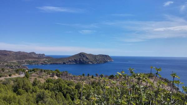 Route by car through Natural Park of Cap de Creus Roses