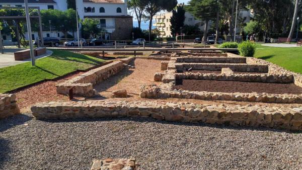 Vila romana de Pla de Palol Platja d'Aro