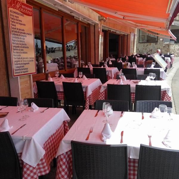 Restaurant Minerva Tossa de Mar