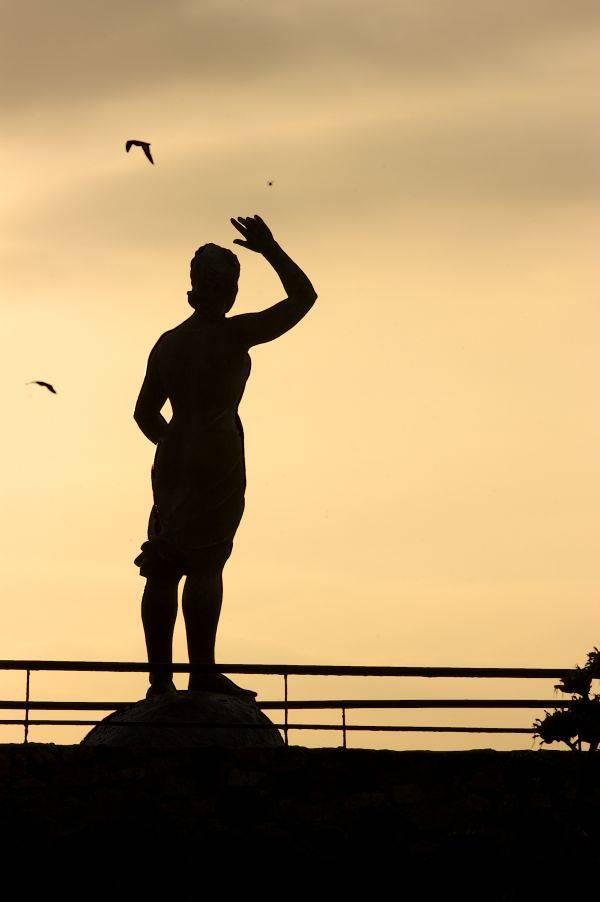 Monument a la Dona Marinera Lloret de Mar