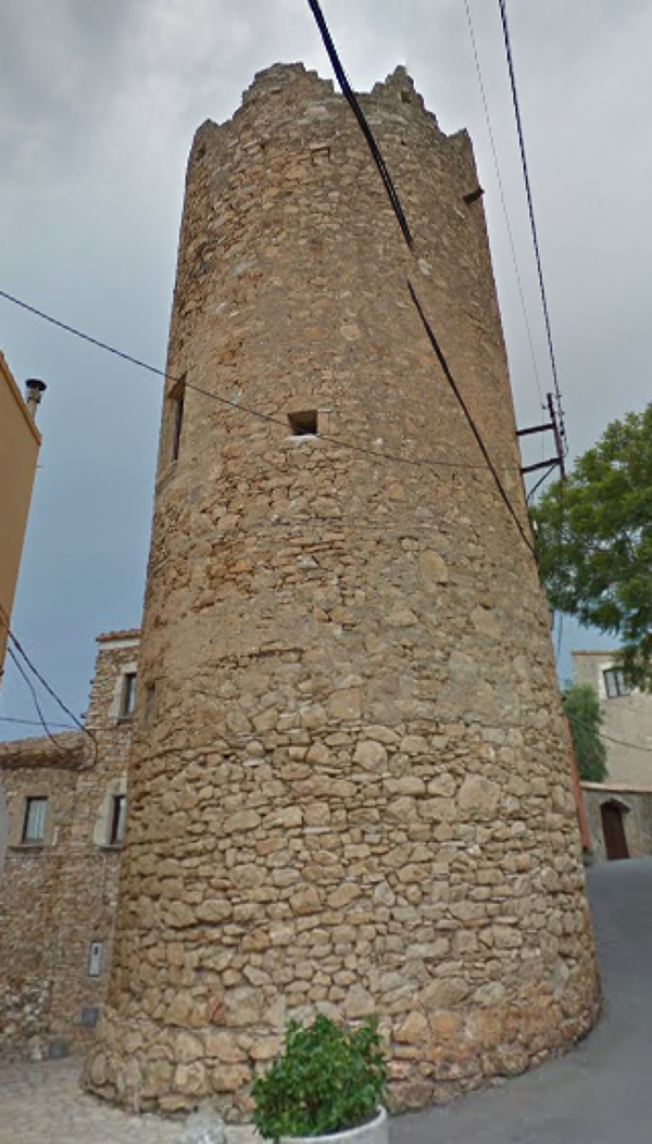 Tower of San Ramón Begur