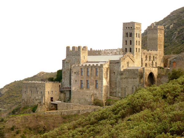 Monasterio de Sant Pere de Rodes El Port de la Selva