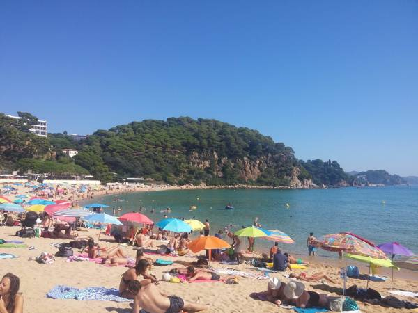 Playa de Santa Cristina Lloret de Mar