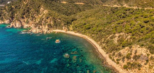 Playa de Vallpresona Sant Feliu de Guíxols