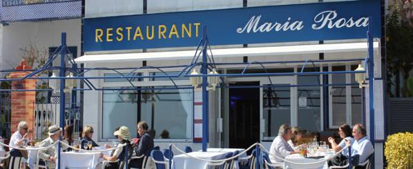 Maria Rosa restaurant Sant Feliu de Guíxols
