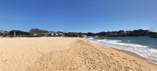 Sant Pol beach Sant Feliu de Guíxols