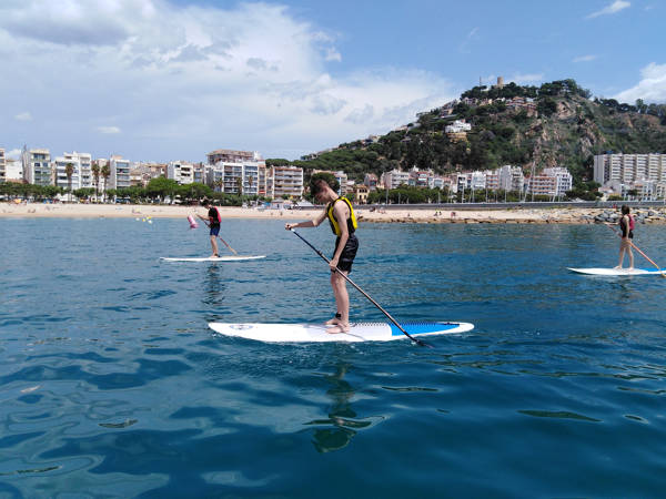 Paddle Surf Rental Blanes