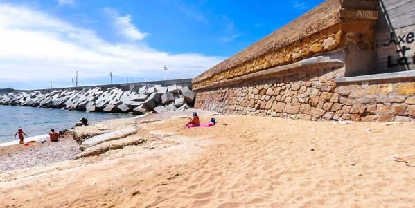 Santa Anna beach Blanes