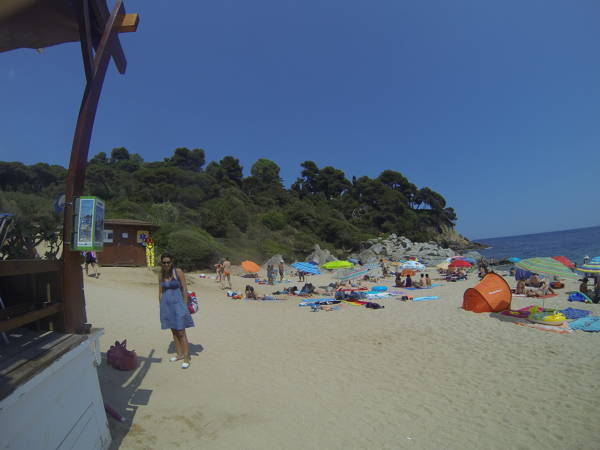 Sa Boadella beach bar