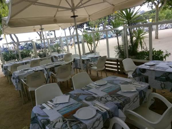 Passeig del Mar restaurant Sant Feliu de Guíxols