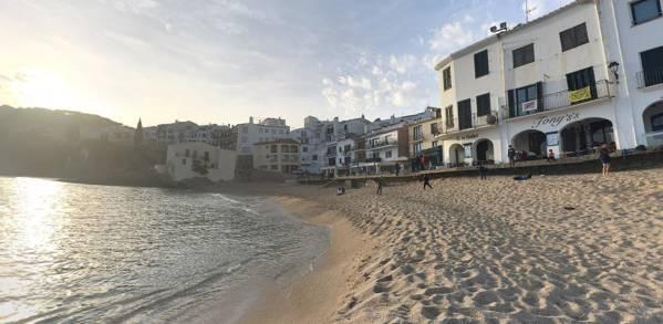 Playa d'en Calau Calella de Palafrugell