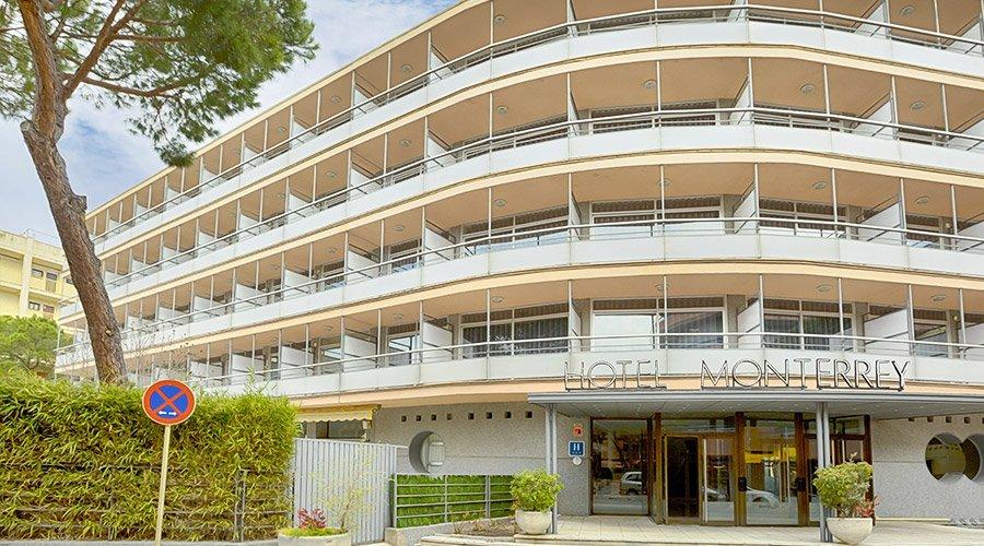 Fachada Hotel Monterrey