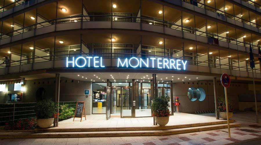 Entrance-hotel hotel platja daro
