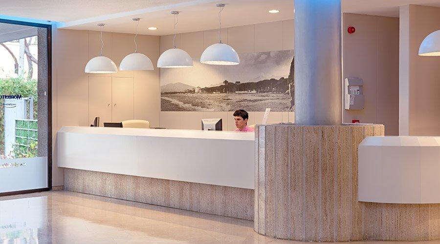 Recepción Hotel Monterrey